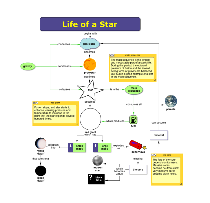 life cycle of a star essay